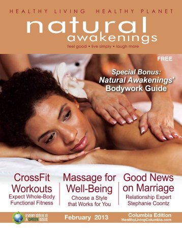 February 2013: Bodywork and Relationships - Columbia Natural ...