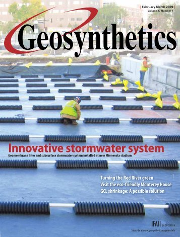 Geosynthetics, February March 2009, Digital Edition