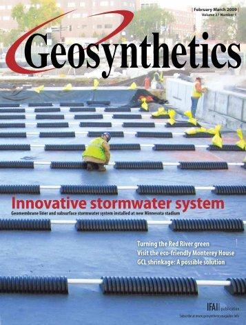 Geosynthetics, February March 2009, Digital Edition