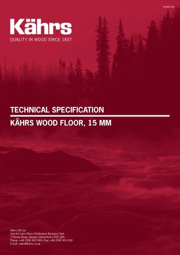 Kährs 15 mm - Wood Flooring