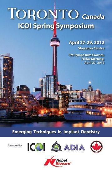 Download ICOI Brochure (PDF) - Advanced Periodontics & Implant ...