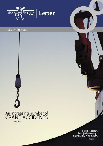 CRANE ACCIDENTS - The Swedish Club