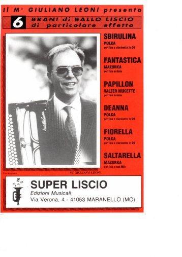 GIULIANO LEONI - FASCICOLO (SBIROLINA).pdf - edizioni musicali ...