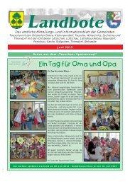 Ein Tag für Oma und Opa - Gemeinde Thiendorf