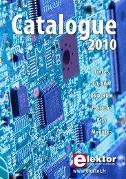 Catalogue Elektor 2010 - ELEKTOR.fr