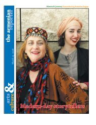 A minstrel's journey - Armenian Reporter