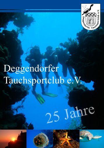 25 Jahre - Tauchsportclub Deggendorf