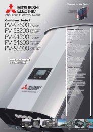Onduleur Série S - Mitsubishi Electric