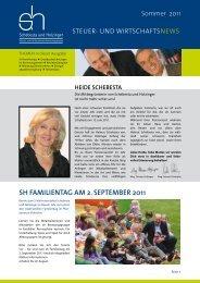 sh familientag am 2. september 2011 - Schebesta und Holzinger