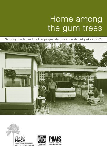 Print Home among the gum trees - Combined Pensioners and ...
