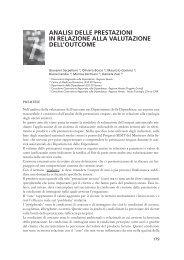 Analisi delle prestazioni in relazione alla valutazione dell ... - Dronet