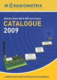 Catalogue Radiometrix