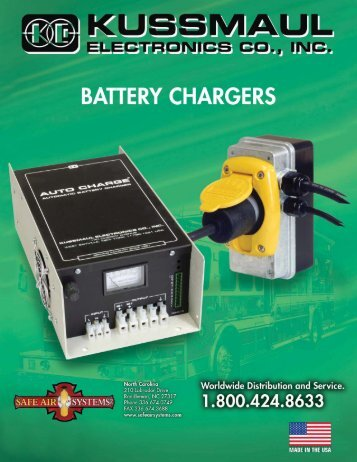 deluxe automatic battery charger - Safe Air Systems