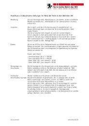 Anschlussbedingungen - Technische Betriebe Wil