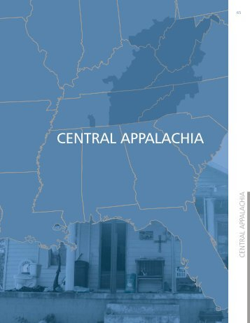 CENTRAL APPALACHIA - Housing Assistance Council