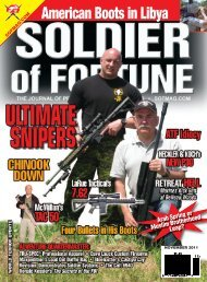 Soldier of Fortune Article