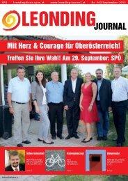 Leonding Journal Nr. 162 - SPÖ