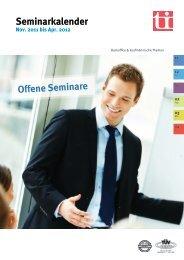 Offene Seminare - ti - taylorix institut für berufliche Bildung eV