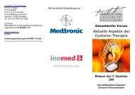 Aktuelle Aspekte der Dystonie-Therapie