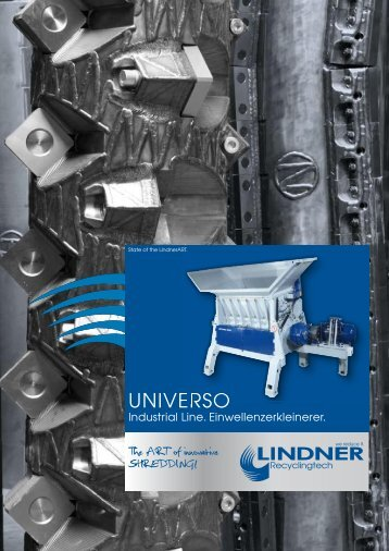 UNIVERSO - Lindner-Recyclingtech GmbH