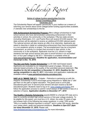 essay based scholarships 2011 Essay based scholarships 2011 latest resume format for freshers 2012 free download literature review topic sentence writing hobbies on resume annotated bibliography apa or mla university application cover letter sample case study presentation kpmg argumentative research paper on bullying writing the perfect history essay sample.