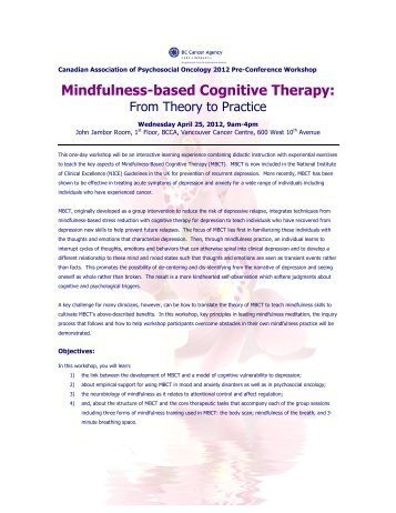 effectiveness of mindfulness based cognitive restructuring Background: mindfulness-based cognitive therapy (mbct) is a group-based  clinical intervention  of effective prevention interventions for mdd is a high  priority  mbct integrates elements of cognitive behavioral therapy for.