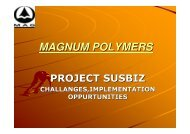 MAGNUM POLYMERS