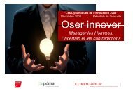 Oser innover - Eurogroup Consulting