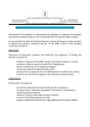 Protocollo primaria/secondaria 1° grado - Ambito Territoriale Como