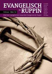 Gemeindebrief lesen - Kirchenkreis Wittstock-Ruppin