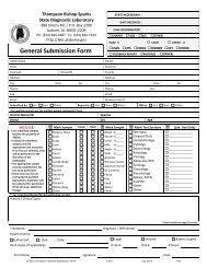 General Submission Form - The Alabama Veterinary Diagnostic ...