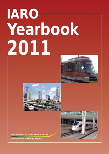 IARO Yearbook 2011 - Data Interchange for Air-Rail Managers
