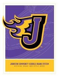 branding system - Johnston Community School District