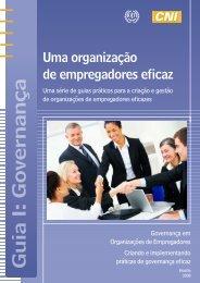 Guia I: Governança - OIT