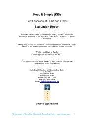 Keep It Simple (KIS) Evaluation Report