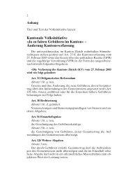 Vorprüfung_VI_ Faire_Gebühren_Verfassung.fm - Kanton Zürich