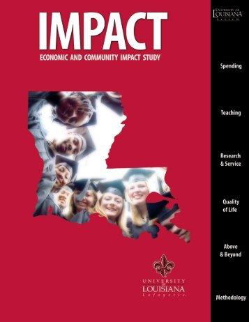 University of Louisiana at Lafayette Report (.pdf)
