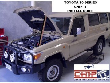 toyota 70 series_crd_chip it_install_manual