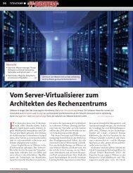 Vom Server-Virtualisierer zum Architekten des ... - Inneo