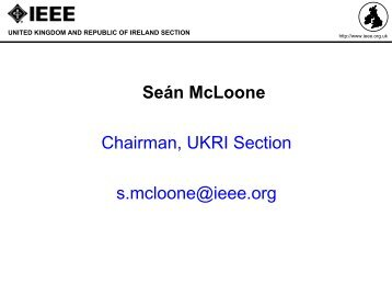 Reception - QMUL IEEE Student Branch