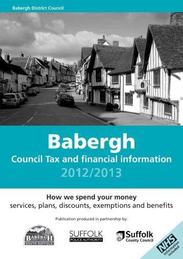 Ctaxbook-babergh PDF - Babergh District Council