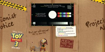 Toy Story 3 3D Flat Framing Chart - Disney Digital Cinema Portal ...
