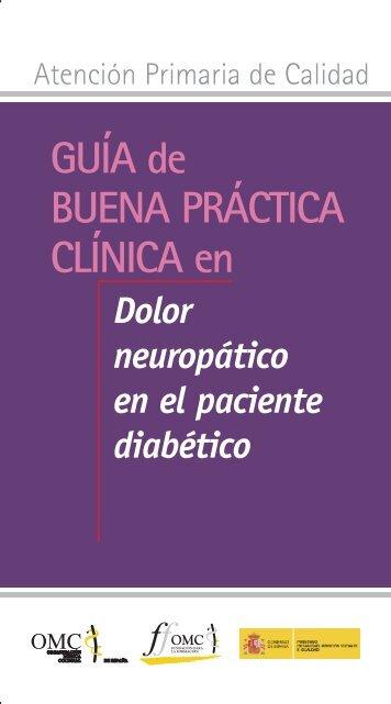 Dolor neuropático en el paciente diabético. - CGCOM