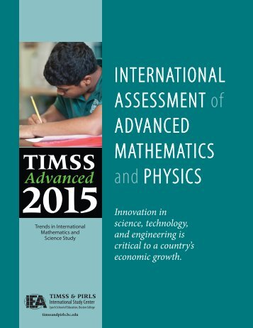 2015 - TIMSS and PIRLS Home