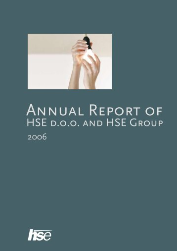 Annual Report of - HSE