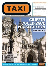 Issue 269 - TAXI Newspaper
