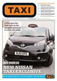 Issue 274 - TAXI Newspaper