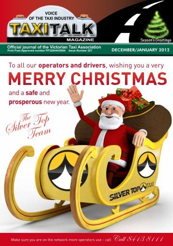 To all our operators and drivers, wishing you  a ... - Taxi Talk Magazine