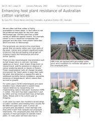 Enhancing host plant resistance - Greenmount Press