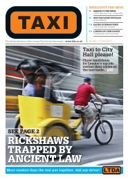 Issue 266 - TAXI Newspaper